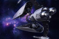 Spaceships by Dmitry Voronezhtsev on ArtStation. Geek Cave, Kid N Play, Star Wars Watch, Concept Art, Concept Ships, Spaceship Concept, Space Station, Space Travel, Sci Fi Art