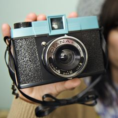 vintage diana camera  - my first 35 mm camera was a plastic one similar to the Diana.  I loved it!  Sadly I left it on the back shelf of the family car one hot sunny day and it melted.