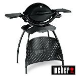 View the Weber Baby Q 1200 Black with Stand