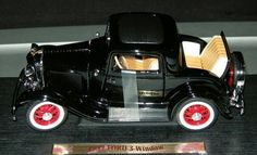 1/18 scale 1932 Ford 3 Window Coupe