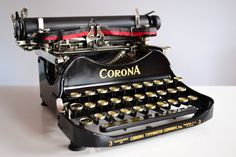 Great Near ANTIQUE 1919 Foldable CORONA No 3 by TypewritersHeaven