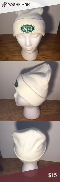 NY JETS unisex winter hat (never worn) Calling all Jets fans! Never used Jets winter hat 100% acrylic. Smoke/pet free home. Same/next day shipping guaranteed!! Accessories Hats