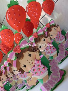 Strawberry Shortcake Birthday, Strawberry Baby, First Birthday Decorations, Girl Themes, Girl Birthday, Birthday Ideas, Party Planning, First Birthdays, Party Themes
