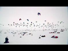 Holy smokes...this exists?  WOW! Snowkite Endurance Race - Red Bull Ragnarok 2012