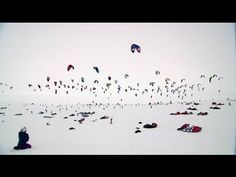 Holy smokes...this exists?  WOW! Snowkite Endurance Race - Red Bull Ragnarok 2012