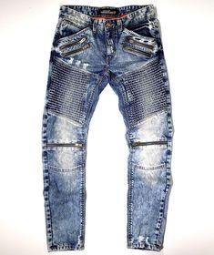454c2b00 Copper Rivet Men's Premium Dirty Wash Biker Pants #CopperRivet #BikerPants  남성 바지, 남자