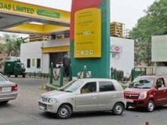 NEU-DELHI: mit der zweiten Phase der ungerade Schema sich nähern, haben CNG Fahrzeughalter aus quer durch die Stadt an der komplexen CGO-Pumpe auf Lo...