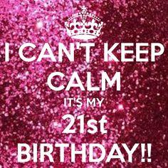 21st Birthday Photo