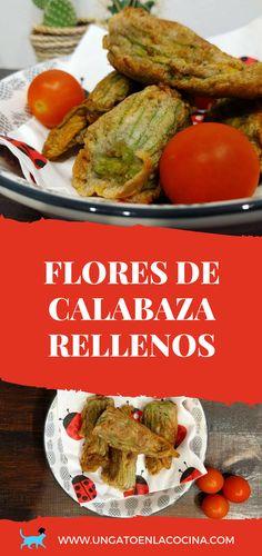 Flores de Calabaza Rellenas