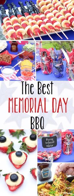 These Memorial Day BBQ party ideas usher in summer with delicious food and fun patriotic decorations! #MadeWithTheMasters #HeinzBBQ #ad