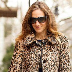 SJP in Leopard print jacket