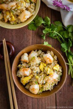 Shrimp Fried Rice 海老チャーハン