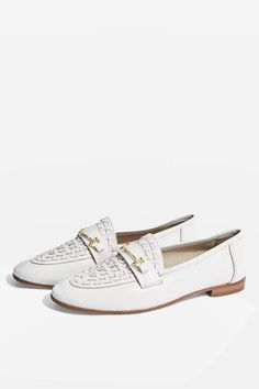 32cfbed24 Topshop Kingley Woven Loafers. bozicaivkovic · Woman s Shoes