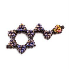 Beaded Chocolate Molecule