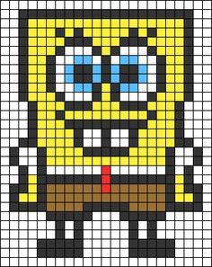 Alpha friendship bracelet pattern added by KrazyKnotz. Melty Bead Patterns, Pearler Bead Patterns, Perler Patterns, Cross Stitch Owl, Simple Cross Stitch, Embroidery Sampler, Cross Stitch Embroidery, Pony Bead Projects, Easy Pixel Art