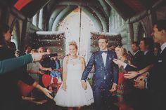 Supegave festival bruiloft in een weiland ! #Festival #Bruiloft #BlowUpChurch #Harreveld #Wedding #Trouwen