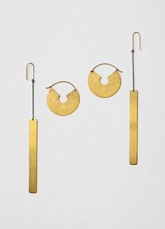 Slide Earrings - Céline