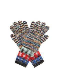 Multi-knit wool-blend gloves  | Missoni | MATCHESFASHION.COM UK