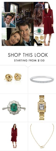 """Inviting Alex's parents for dinner and informing them about her pregnancy"" by maryofscotland ❤ liked on Polyvore featuring Blue Nile, Cartier and Marvel"