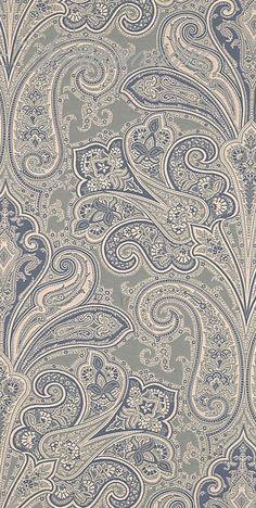 Scalamandre Kellie paisley wallpaper