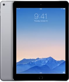 iPad Air 2 Wi-Fi 64GB - Space Gray - Apple - I know nobody will get me this, I just want to buy this for myself someday...