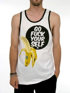 29b01182df62fa Go F ck Yourself Tank Top for men by LRG. Cotton Model is wearing a size  Medium