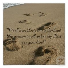 52 Best Footprints In The Sand Poem Images Footprints In The Sand