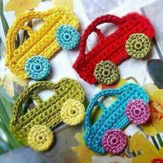 Crochet Car, Crochet Amigurumi, Crochet For Boys, Love Crochet, Crochet Crafts, Crochet Flowers, Crochet Toys, Crochet Projects, Diy Crafts