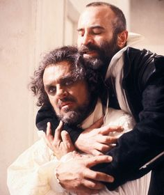 'Othello' Bob Hoskins and Anthony Hopkins Shakespeare Plays, William Shakespeare, The Long Good Friday, Dabney Coleman, Anniversary Pictures, Ian Mckellen, Anthony Hopkins, Othello, Helen Mirren