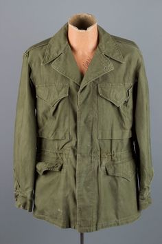 Look over the photos carefully! Condition :Great! This is an extremely rare field jacket! It appears to be an M-50 based on the characteristics of it. The M-50 was, to my knowledge, a slight deviation from the M-43, changing it to a button-in liner. | eBay!