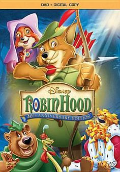 Robin Hood. Funny how this was my favorite kid's movie and now Robin Hood (with Russel Crowe) is now one of my favorite non-kids movies