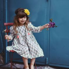 Dress Fanchon Pondi - Dresses - little girls   Louise Misha