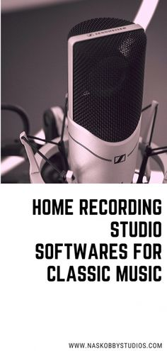 Home Recording Studio Softwares For Classic Music - Nas Kobby Studios Music Love, Listening To Music, Good Music, Singing, Design Studio Office, Recording Studio Design, Music Lesson Plans, Music Lessons, Music Education