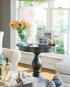 round end table at Osmond Designs