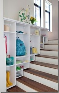 I am wondering if we could do this in our garage--- I hate those steps. #Split Level Entry