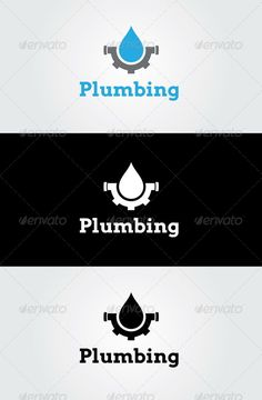 Plumbing Logo Template ~ With optimal health often comes clarity of thought. Click now to visit my blog for your free fitness solutions!