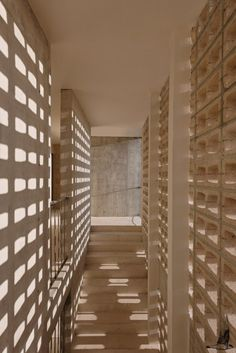 Kokonut: A Residential Apartment With Untouched Natural Material Finishes | Riparia - The Architects Diary Natural Materials, Stairs, It Is Finished, Gallery, Building, Staircase Ideas, Mosque, Bricks, Architects