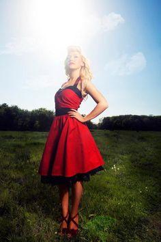Plus Size Corset Dress, Blue Corset, Full Skirt Dress, Plus Size Dresses, Dress Red, 50s Dresses, Prom Party Dresses, Dresses For Sale, Rockabilly Dresses