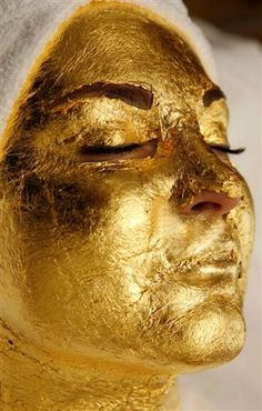 Give yourself a gold facial at home! @ http://www.stylecraze.com/articles/give-yourself-a-gold-facial-at-home/