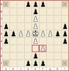 Tablut spielen: Tablut ist ein Spiel aus der Familie der Hnefatafl-Spiele (und nein, das ist kein Verschreiber ;-) ). Diese Variante kommt ursprünglich aus Lappland und wurde auch von den Wikingern gespielt.