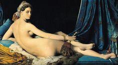 Ingres. Grand Odalisque. 1814