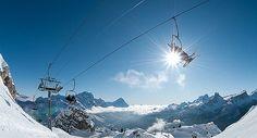 Cortina d'Ampezzo Ski camping-car