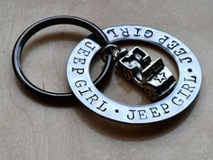 Jeep Girl Key Chain-when I get my Tiffany blue jeep I will get this!