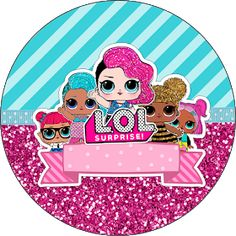Fiestas Personalizadas Imprimibles: Topper LOL para imprimir Gratis 4th Birthday, Birthday Parties, Lol Doll Cake, Doll Party, Lol Dolls, Party Printables, Paper Dolls, Baby Shower, Crafts