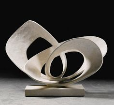Barbara Hepworth sculpture auction to see 381000 at Sothebys Barbara Hepworths Curved Forms sculpture is joined by a Ben Nicholson work at auctio Barbara Hepworth, Sculpture Projects, Wood Sculpture, Metal Sculptures, Sculpture Ideas, Image F, Contemporary Sculpture, Land Art, Art Day
