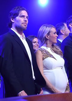 Carrie Underwood and Mike Fisher ACC Awards 2015