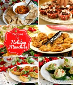 Christmas Appetizers & Finger Food Recipes! From Grace-Marie Johnston's cooking school at Bristol Farms.