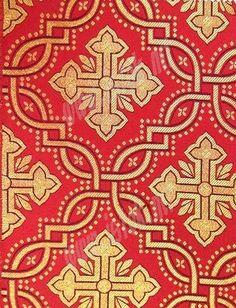 Liturgical fabrics: Mirgorod silk