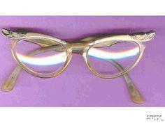 Cat's Eye glasses (some of my teachers wore them)