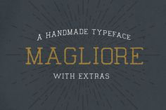 Magliore Font - Display - 1
